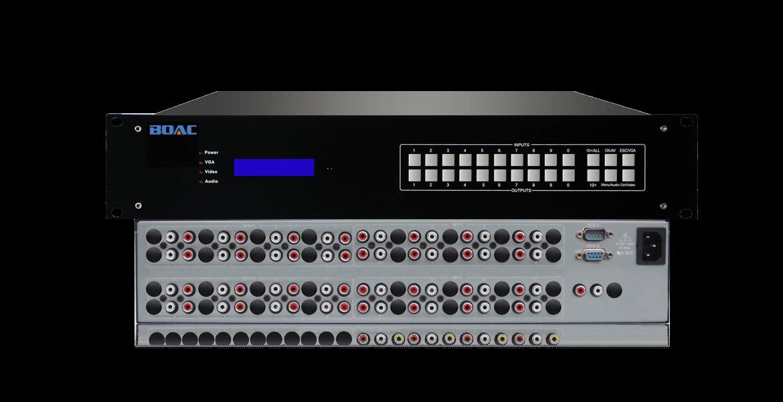 音频切换器可把多路音频输入信号传至输出端口,在多路输入信号的情况